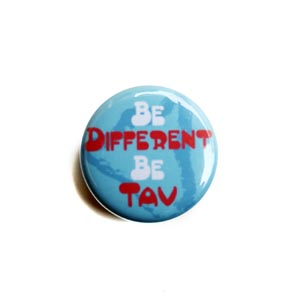 Be Different Be Tav Pin
