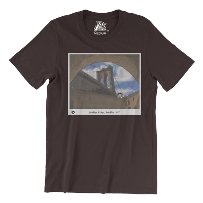 Tav the Duck at The Brooklyn Bridge T-Shirt