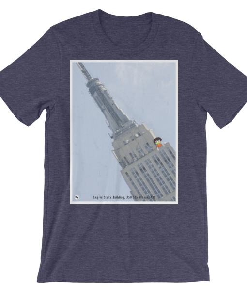 Tav the Duck at the Empire State Building T-Shirt