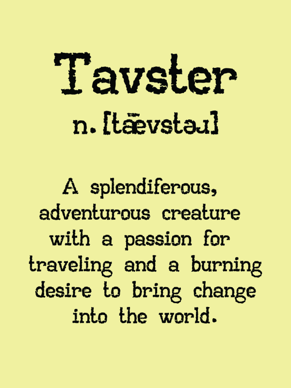 Tavster Definition