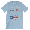 Tav the Duck Puerto Rico Strong T-shirt
