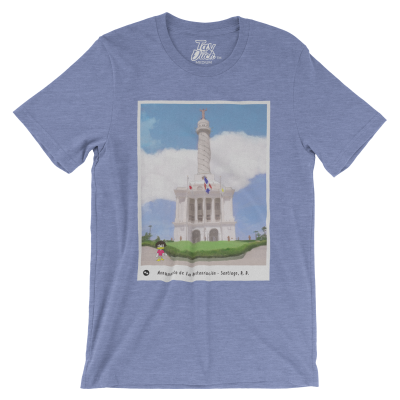 Tav the Duck at Monumento de Santiago T-Shirt